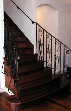 I31 Curved Staircase Railing