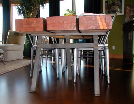 H12 Sawhorse Table Base
