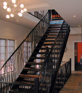 I25 Twig Design Stair and Railing System