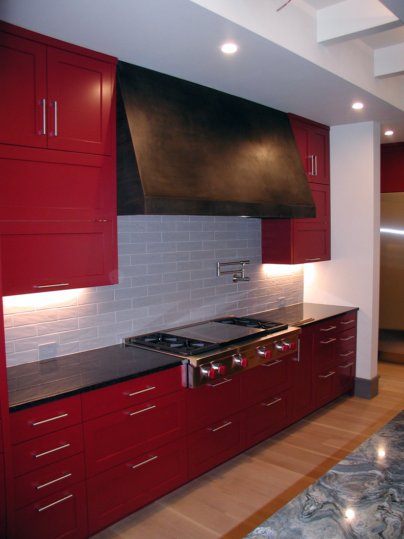 H2 Contemporary Range Hood Cover