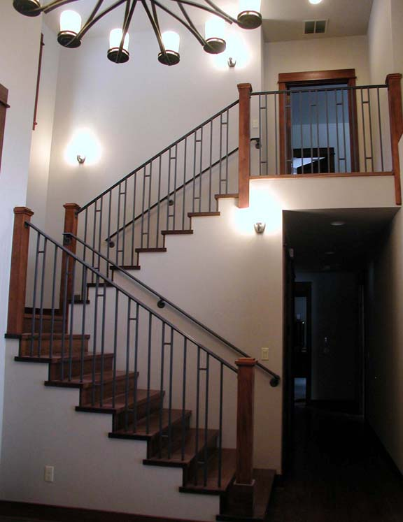 I4 Craftsman Style Stair Rail