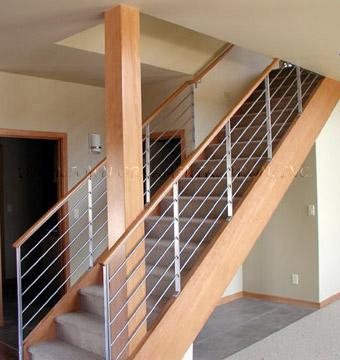 Metal Stair Railing Outdoor Railings Stairs Design