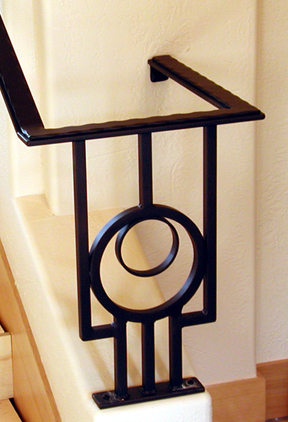 I22 Handrail with Decorative Rings