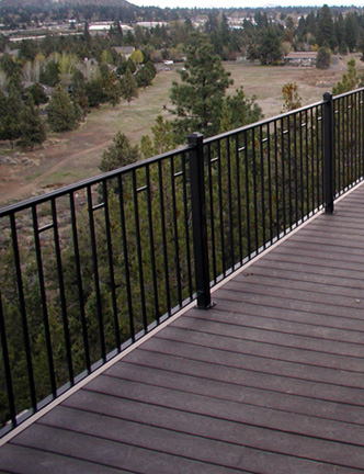 E16 Custom Deck Railing