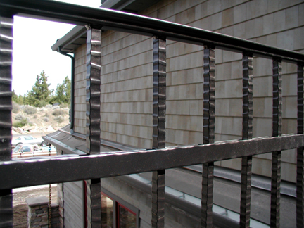E17 Custom Deck Railing with Texture