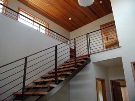 I26 Horizontal Design Stair and Railing System